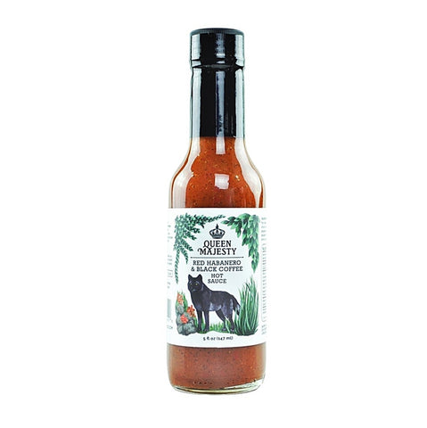 Queen Majesty Red Habanero & Black Coffee Hot Sauce - Lucifer's House of Heat