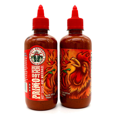 Sauce Brothers Primo Peri Peri Hot Sauce - Lucifer's House of Heat