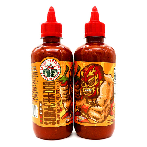 Sauce Brothers Srirachador Hot Sauce - Lucifer's House of Heat
