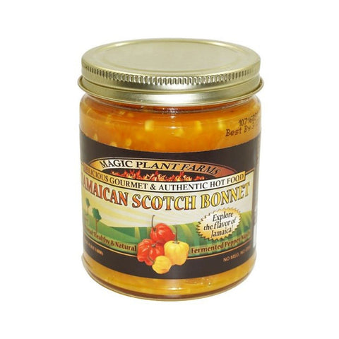 Jamaican Yellow Scotch Bonnet Pepper Mash - Lucifer's House of Heat