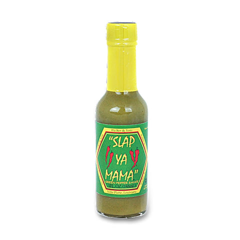 Slap Ya Mama - Green Pepper Sauce - Lucifer's House of Heat