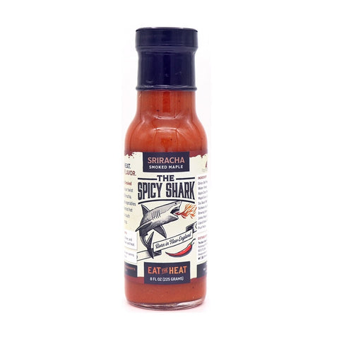 The Spicy Shark Smoked Maple Sriracha - Lucifer's House of Heat