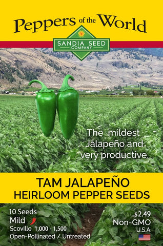 Jalapeño TAM Seeds - Lucifer's House of Heat