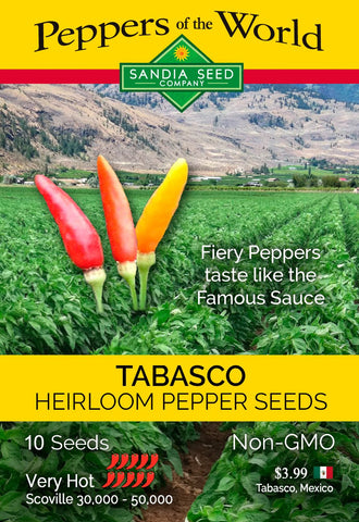 Tabasco Pepper Seeds - Lucifer's House of Heat