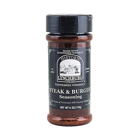 Historic Lynchburg Steak & Burger Seasoning - Lucifer's House of Heat