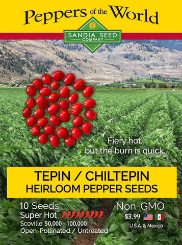 Chiltepin / Tepin Chile Seeds - Lucifer's House of Heat