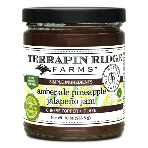 Terrapin Ridge Farms Amber Ale Pineapple Jalapeno Jam - Lucifer's House of Heat