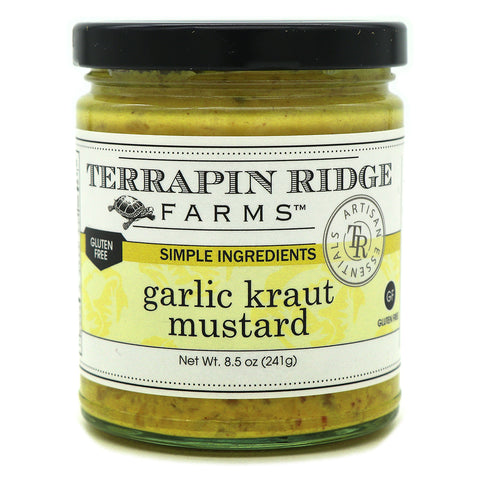 Terrapin Ridge Farms Garlic Kraut Mustard - Lucifer's House of Heat