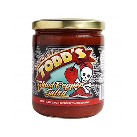 Todd's Ghost Pepper Salsa - Lucifer's House of Heat