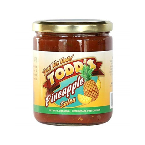 Todd's Pineapple Salsa - Lucifer's House of Heat