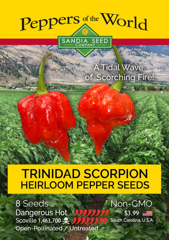Trinidad Scorpion Pepper Seeds - Lucifer's House of Heat