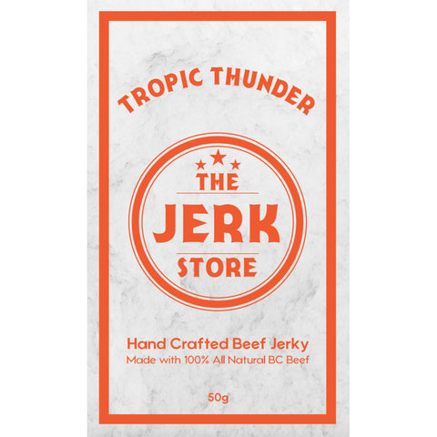The Jerk Store Tropic Thunder Beef Jerky - Lucifer's House of Heat