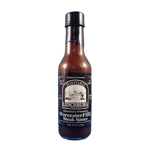 Lynchburg Tennessee Whiskey WorcesterFIRE Steak Sauce - Lucifer's House of Heat