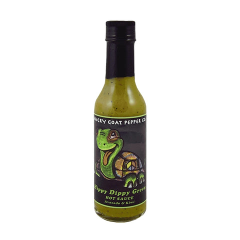 Angry Goat Hippy Dippy Hot Sauce - Lucifer's House of Heat