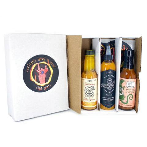 Sweet Heat Canadian Hot Sauce Gift Pack - Lucifer's House of Heat