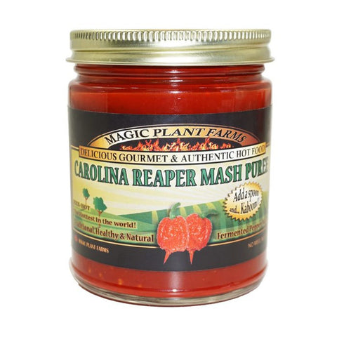 Carolina Reaper Mash Puree - Lucifer's House of Heat