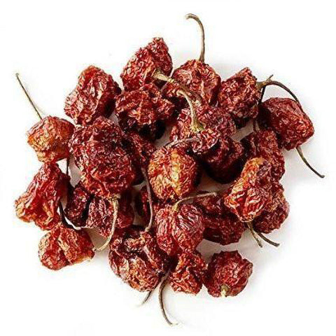 Dried Carolina Reaper Peppers - Lucifer's House of Heat
