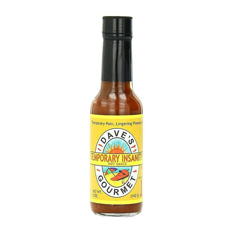 Daves Temporary Insanity Hot Sauce - Lucifer's House of Heat