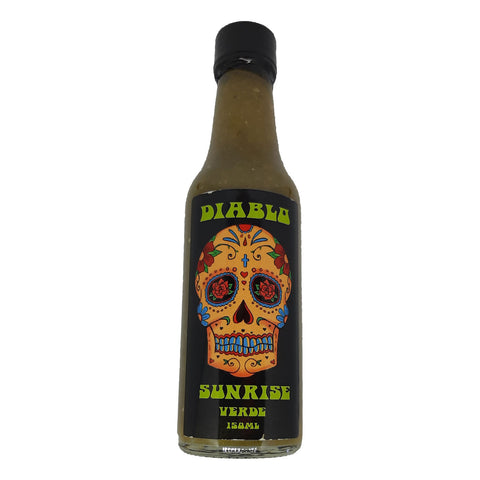 Diablo Sunrise Verde Hot Sauce - Lucifer's House of Heat
