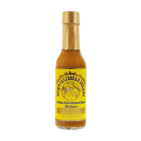 Dick's Caribbean Dreams - A-Bajan Style Mustard - Lucifer's House of Heat
