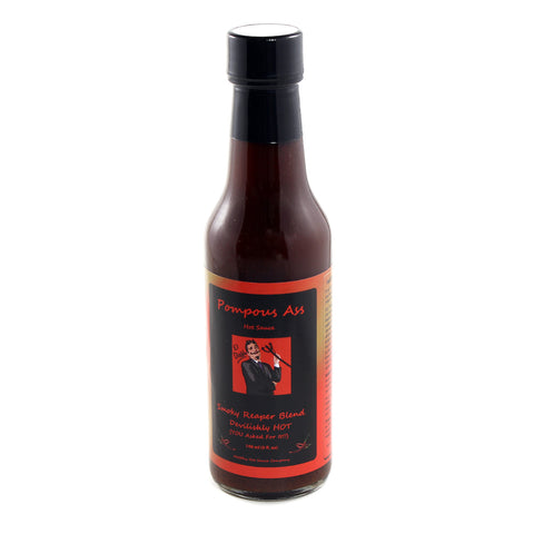 Pompous Ass Smoky Reaper Blend Devilishly Hot Sauce - Lucifer's House of Heat