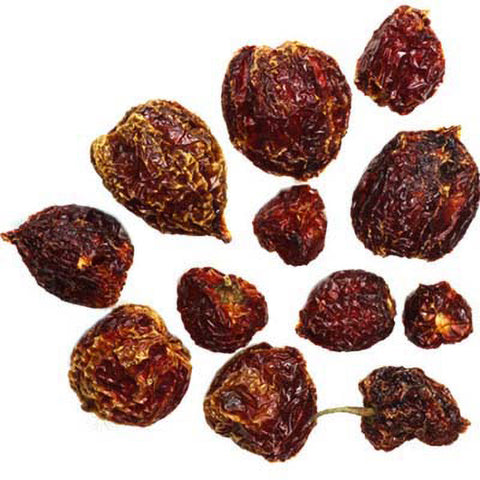 Dried Orange Habanero Peppers - Lucifer's House of Heat