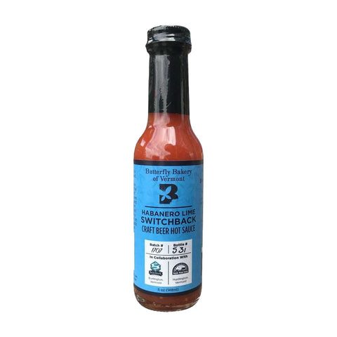 Butterfly Bakery of VT Habanero Lime Switchback Hot Sauce - Lucifer's House of Heat