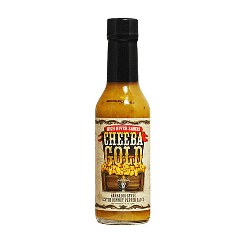 High River Sauces Cheeba Gold Barbados - Lucifer's House of Heat