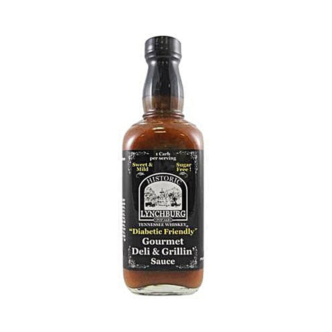 Diabetic Friendly Sweet & Mild Lynchburg Tennessee Whiskey Barbecue Sauce - Lucifer's House of Heat