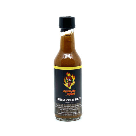 Crater Hot Sauce Pineapple Heat - Lucifer's House of Heat