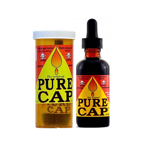Pure Cap Hot Sauce Extract - Lucifer's House of Heat