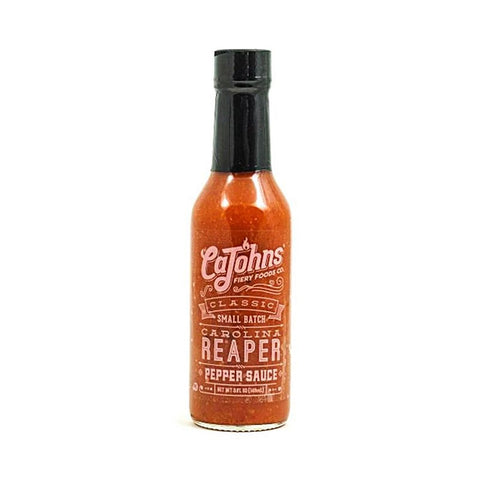 CaJohns Classic Small Batch Carolina Reaper Pepper Sauce - Lucifer's House of Heat