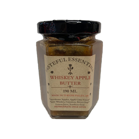 Tasteful Essentials Whiskey Apple Butter - Lucifer's House of Heat