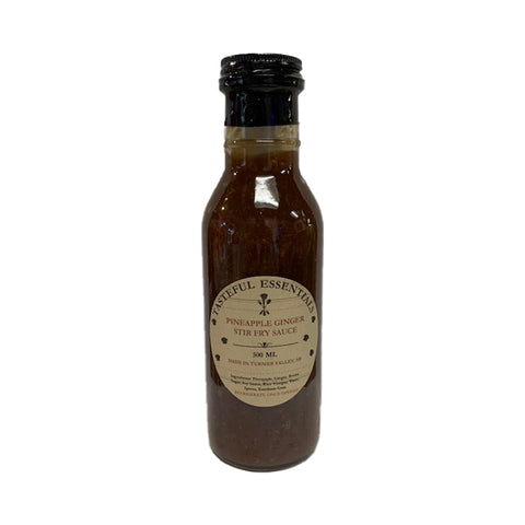 Tasteful Essentials Pineapple Ginger Stir Fry Sauce - Lucifer's House of Heat