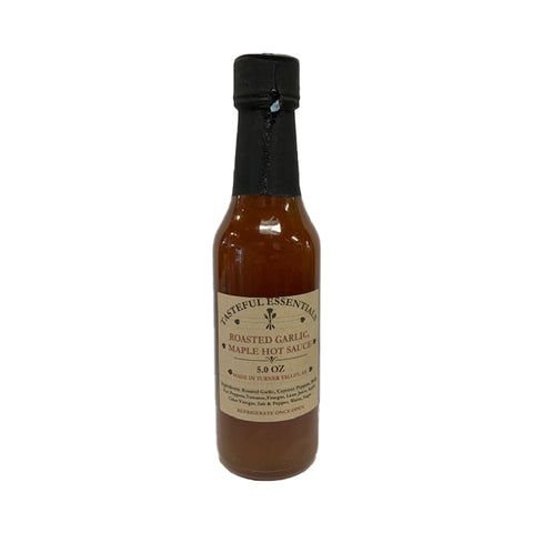 Tasteful Essentials Roasted Garlic Maple Hot Sauce - Lucifer's House of Heat