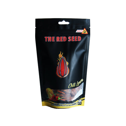 The Red Seed Spicy Chili Lemon Flavored Sunflower Seeds - Lucifer's House of Heat