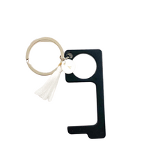 Load image into Gallery viewer, No Touch Button Pusher + Door Opener Key Chain