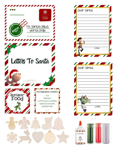 Santa Letter Craft Kit