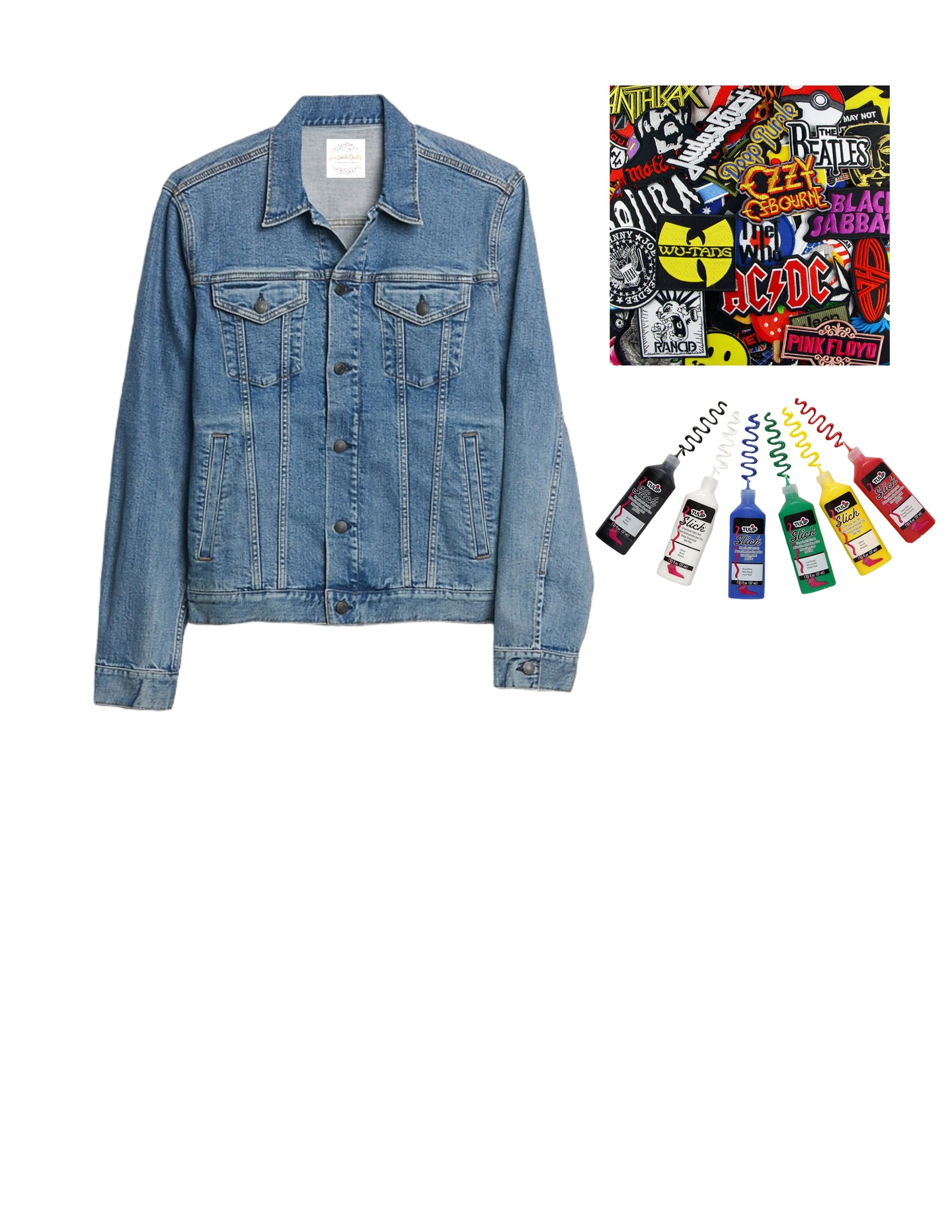 Dad Denim Jacket Kit (limited edition)