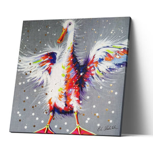 Bobby Dazzler - Canvas Print by Bridget Skanski-Such