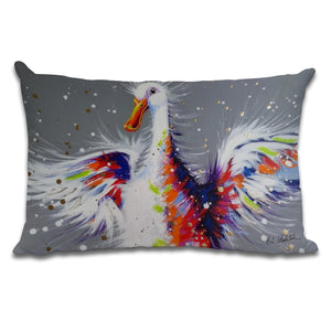 Bobby Dazzler - Cushion by Bridget Skanski-Such