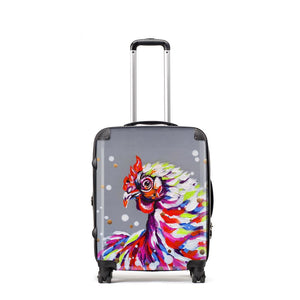 Funky Chicken - Suitcase by Bridget Skanski-Such