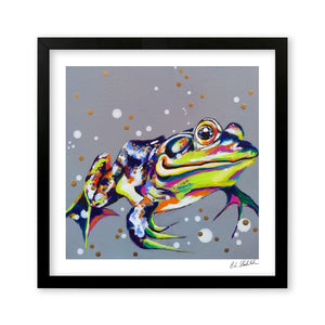 Kiss Me Quick - Art Print by Bridget Skanski-Such