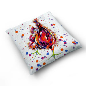 Let's Party - Cushion by Bridget Skanski-Such