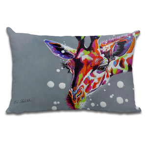 Tall - Cushion by Bridget Skanski-Such