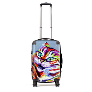 Monster Cat - Suitcase by Bridget Skanski-Such