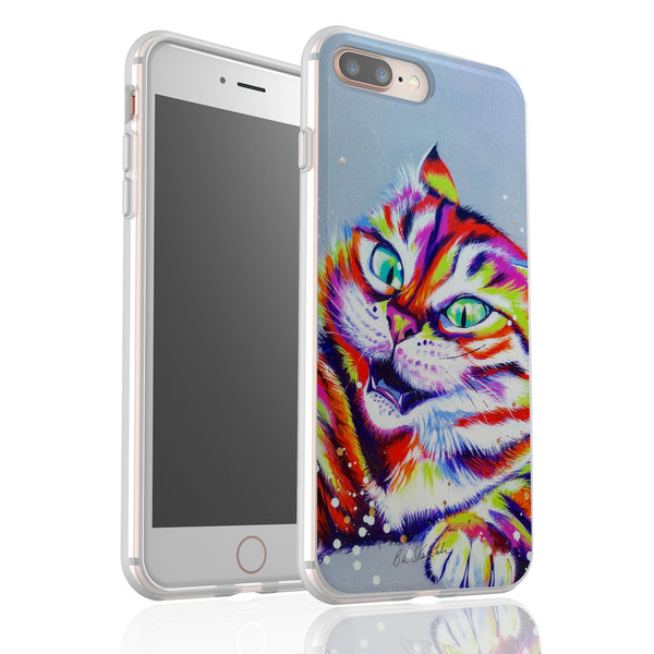 Monster Cat By Bridget Skanski-Such - Flexi Phone Case