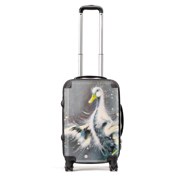 You Don't Have To Be A Swan To Join The Ballet - Suitcase by Bridget Skanski-Such