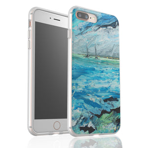 Aquamarine By Cheryl Wigley - Flexi Phone Case