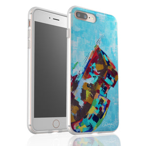 Blues By Cheryl Wigley - Flexi Phone Case